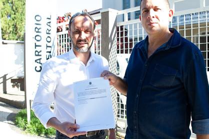 Du Cazellato e Sargento Camargo são oficialmente candidatos pelo PSDB