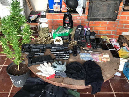 Operação da PM e MP detém 3 por organização criminosa e tráfico de drogas em Sumaré