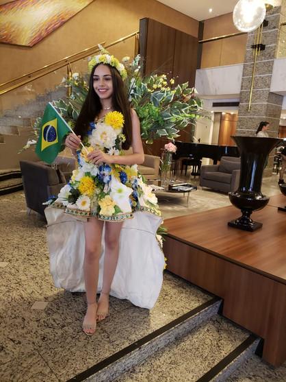 Paulinense atual Miss Pré Teen Brasil, representará o país em concurso mundial