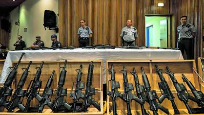 Apreensão de armas de fogo na RMC é a 2ª maior no Estado de São Paulo