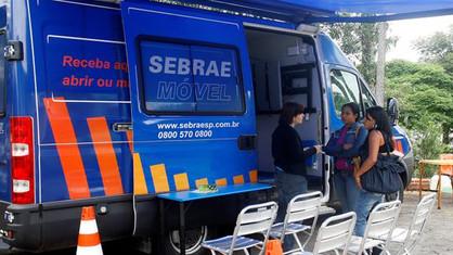 Sebrae Móvel atenderá empreendedores no Jardim América neste sábado (20)