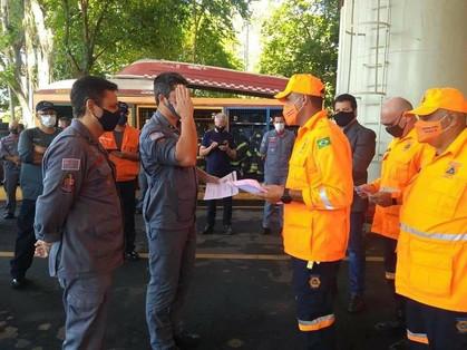"""Secretaria de Proteção e Defesa Civil de Paulínia têm reconhecimento após """"Operação Corta Fogo 2020"""""""