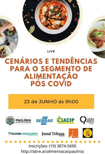 Administração em parceria com Sebrae e ACIP, realiza capacitação para empresários da área de aliment