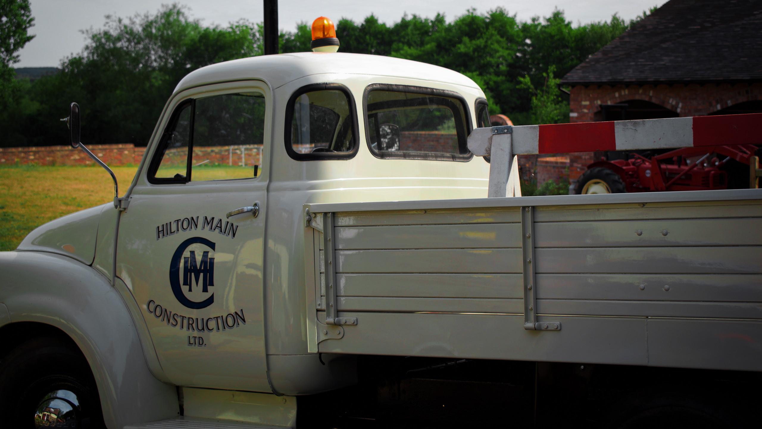 Hilton Main Construction West Midlands prized Bedford truck