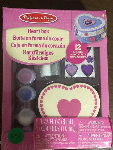 Caja en forma de corazon