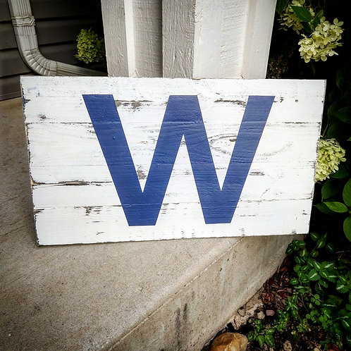 Fly the 'W' Sign