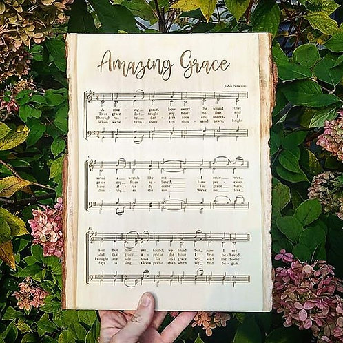 Wood Burned Sheet Music