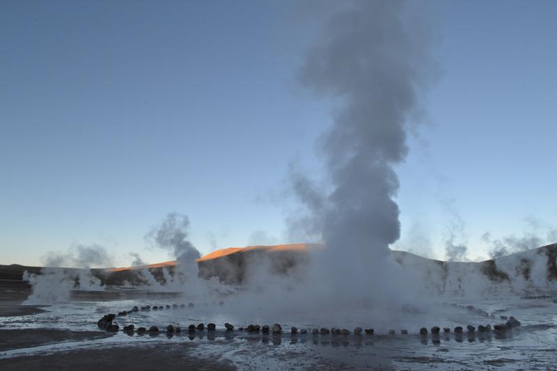 Tatio geysers