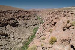 Deep canyon of Puritama