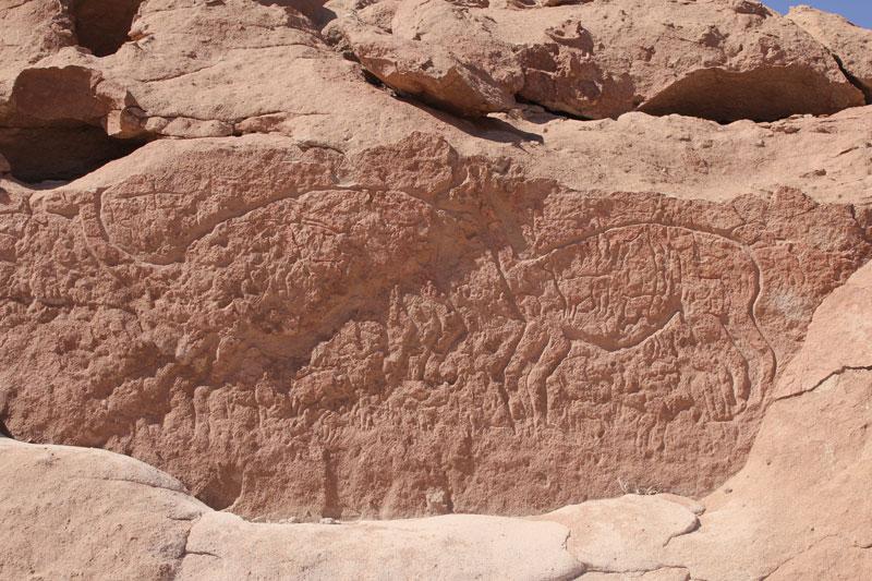 Yerbas Buenas pictoglyphs