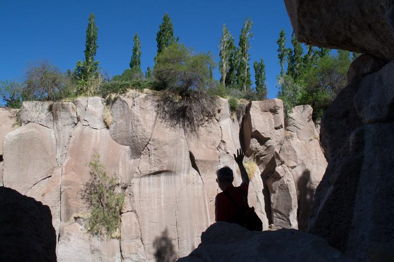 Descendant au canyon