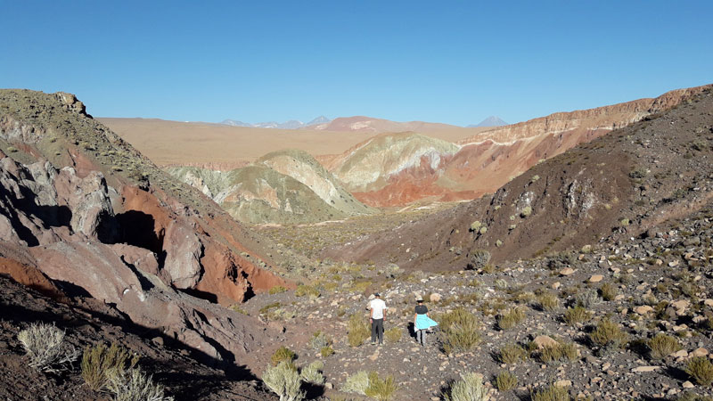 Geology in Atacama