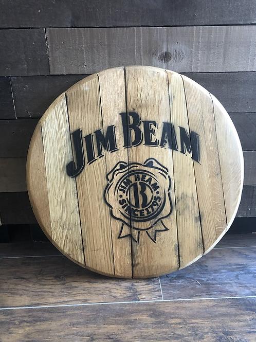 Jim Beam Barrel Head