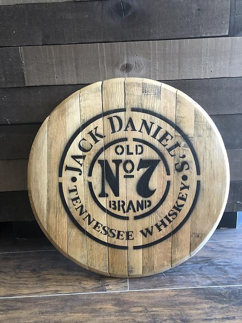 Jack Daniels Barrel Head