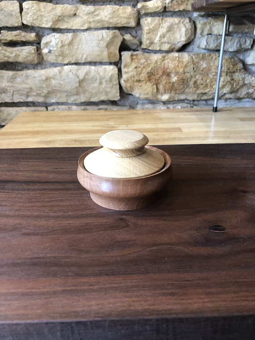 Oak and Cherry Trinket Vase