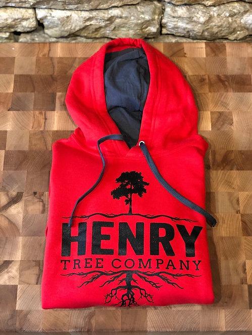 Red Henry Tree Hoodie