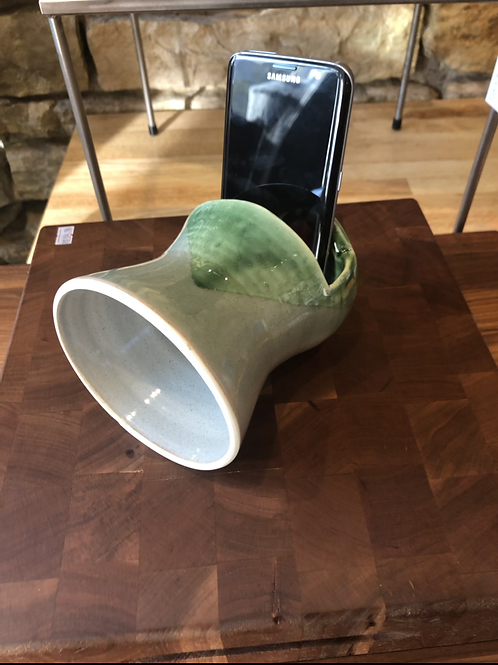 Green Ceramic Phone Speaker
