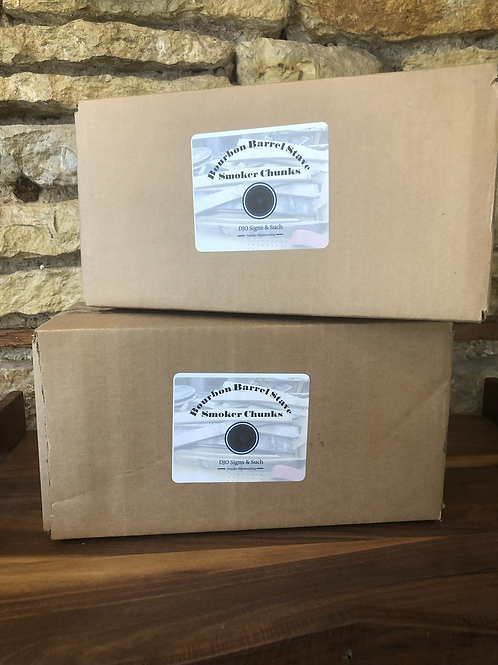 Bourbon Barrel Stave Smoker Chunks