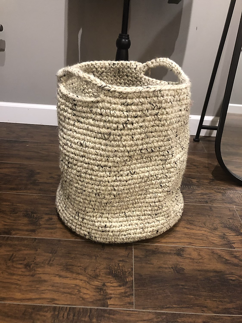 Crotchet Floor Basket