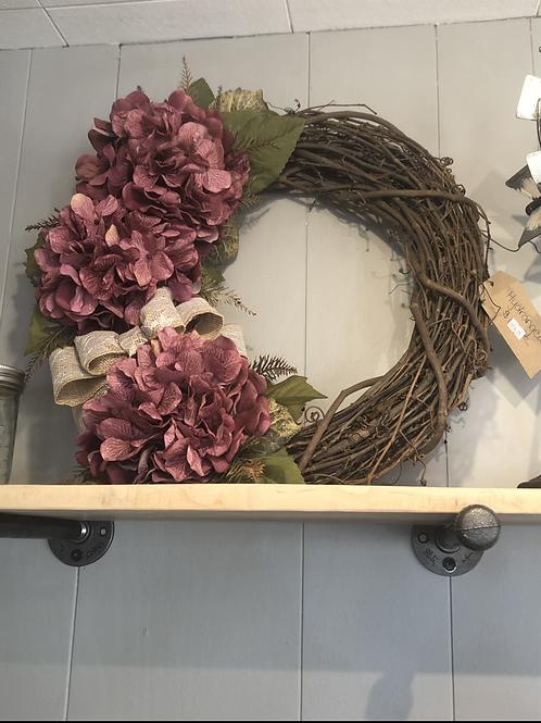 Hydrangeas Wreath