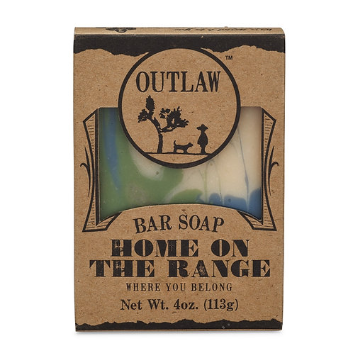 Home on the range Bar Soap