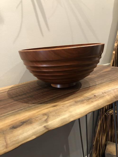 Cherry Wood Turned Bowl
