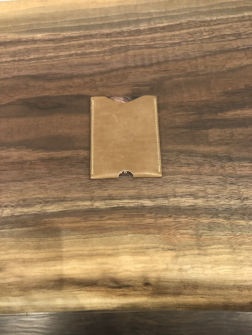 Leather Micro Card Holder