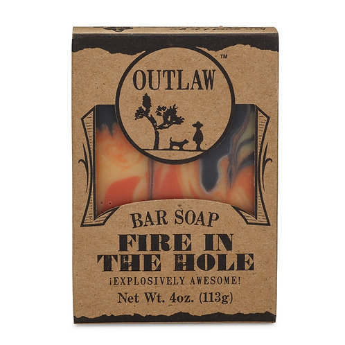 Fire in the hole Bar Soap