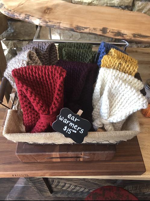 Hand Crocheted Ear Warmers