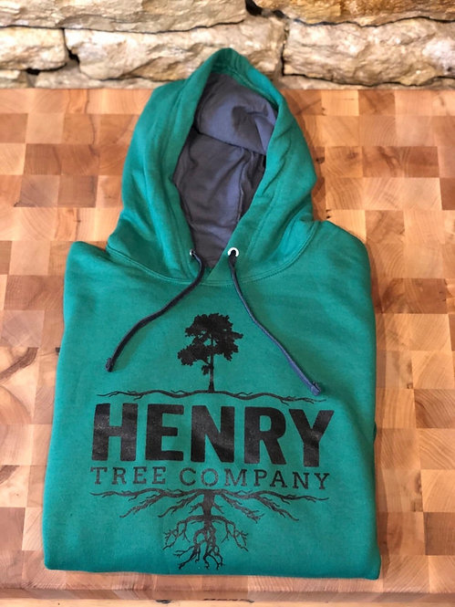 Forest Green Henry Tree Hoodie