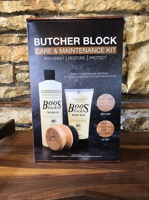 John Boos Butcher Block Care & Maintenance Kit