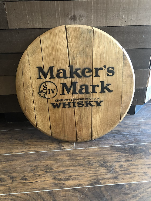 Maker's Mark Barrel Head