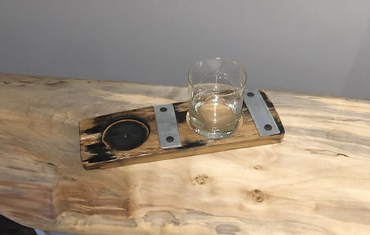 Barrel Cigar and Drink Holder