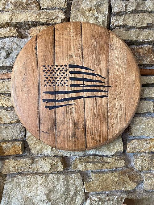 Flag Barrel Head