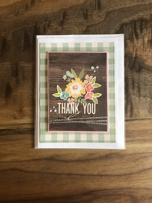 "Handmade Card ""Thank you"""