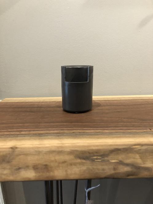 Concrete Open Cup- Gray