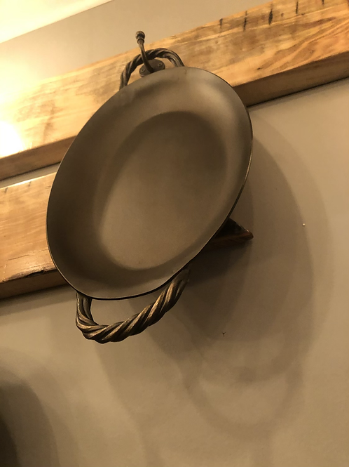 Hand Forged Oval Roaster
