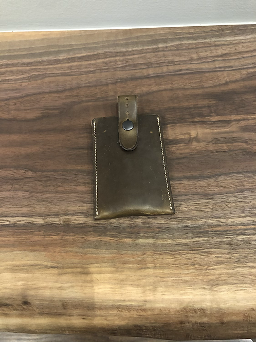 Leather Strap Pull Wallet