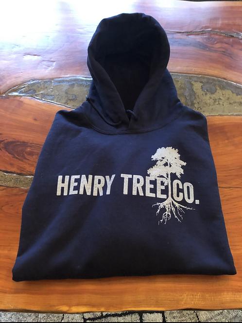 Henry Tree Hoodie- Navy