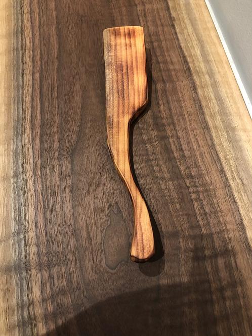 Wood Carved Spatula