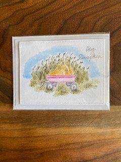Hey Pumpkin Handmade Card