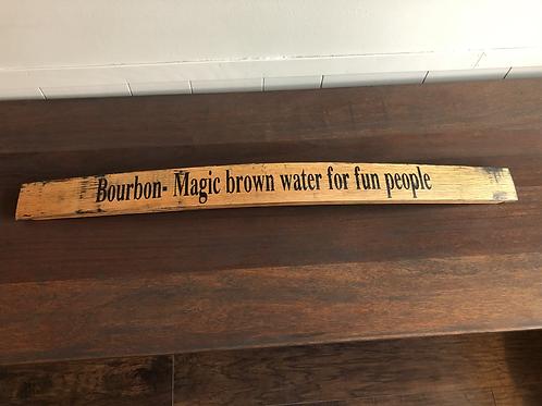 Barrel Stave-Bourbon