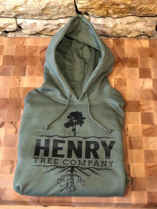 Green Henry Tree Hoodie