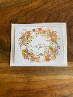 Happy Thanksgiving Handmade Card