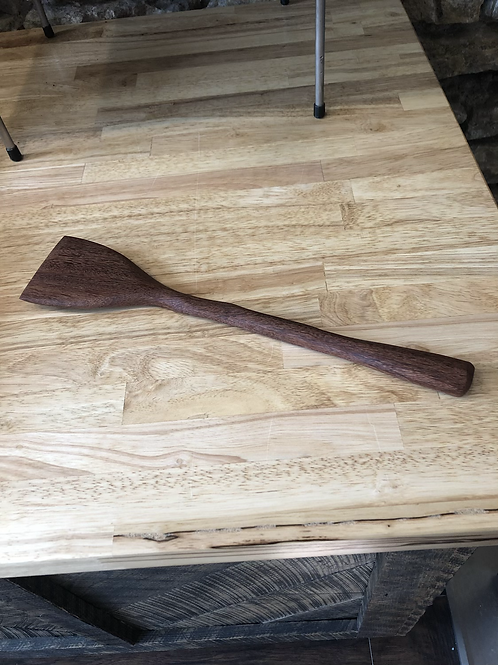 Wood Carved Spatula