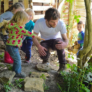 Thomas Siddington, owner and teacher at Glendon Farm Montessori and Forest School Nursery
