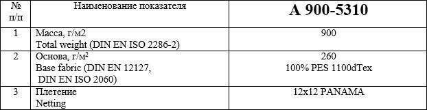 Материал с ПВХ покрытием А 900-5310 купить