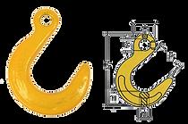 Крюк литейный VAL для цепного стропа купить