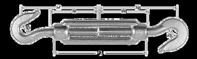 Талреп DIN1480 крюк-крюк купить в Москве