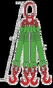 Купить текстильный ленточный строп 4СТ в Москве